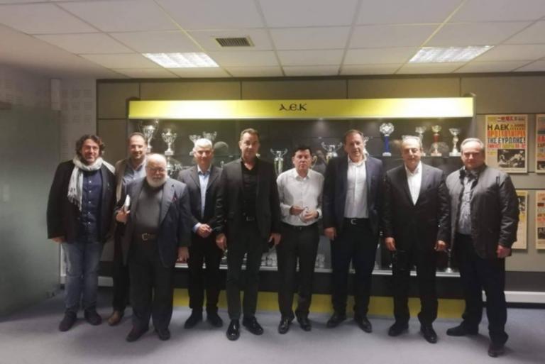 Γήπεδο ΑΕΚ: Συστάθηκε επιτροπή για το Κλειστό στα Άνω Λιόσια!