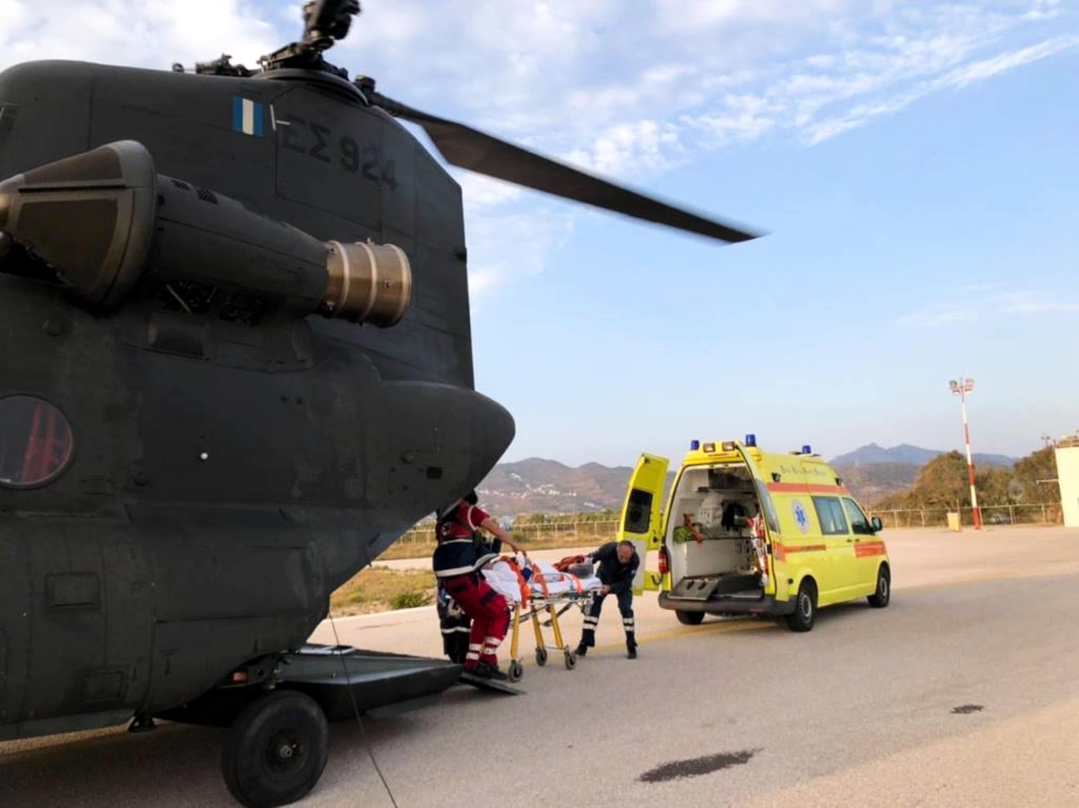Συναγερμός στο ΕΚΑΒ: Πενταπλή αεροδιακομιδή ασθενών στην Κρήτη