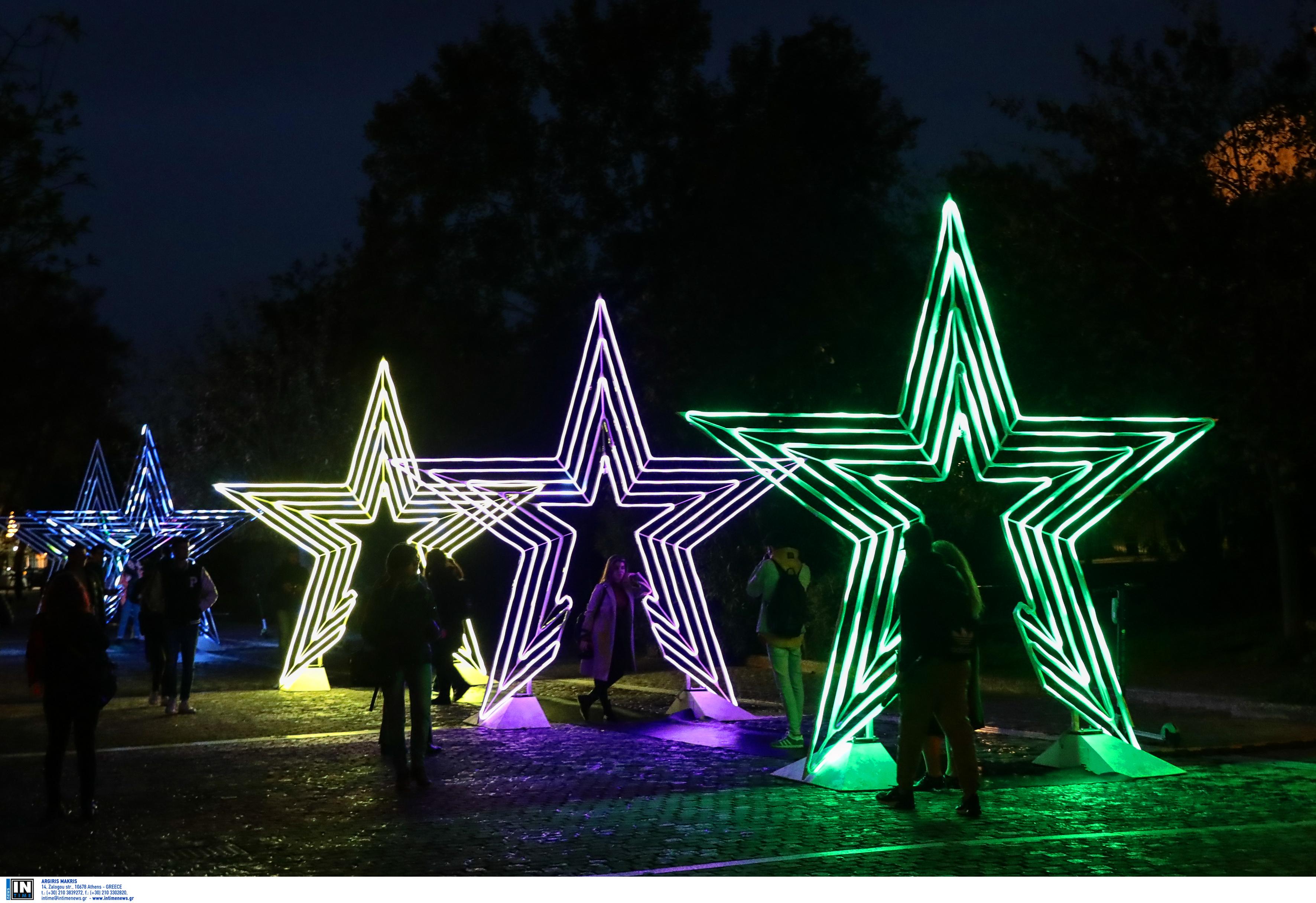 Τα… σπάνε τα 3D αστέρια στην Διονυσίου Αεροπαγίτου!