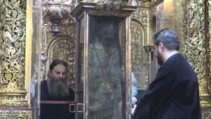 Ζάκυνθος: Ο Άγιος Διονύσιος στην θύρα Του για τη γιορτή των Χριστουγέννων
