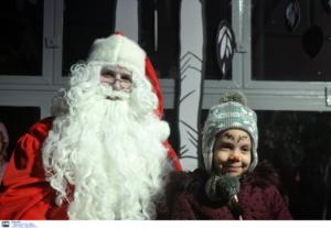 Ναύπλιο: Παιδικά χαμόγελα ευτυχίας στο πάρκο του Άγιου Βασίλη! Έτσι έζησαν το χριστουγεννιάτικο παραμύθι [video]