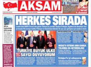 Συνάντηση Μητσοτάκη Ερντογάν: Ο τουρκικός Τύπος άρχισε την προπαγάνδα… από νωρίς!