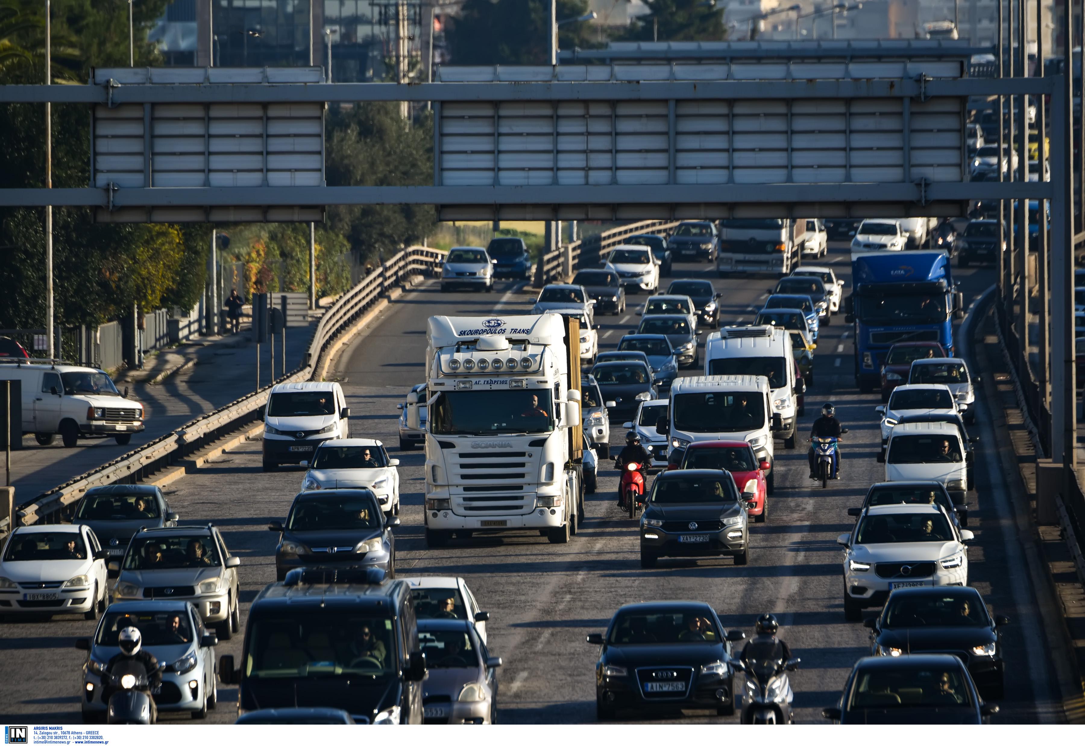 Μποτιλιάρισμα στην Αθηνών – Λαμίας– Ποιους δρόμους να αποφύγετε