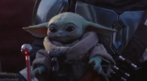 """Μπισκοτάκια """"baby Yoda"""" για τις γιορτές"""