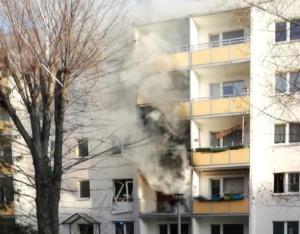 Μπλάνκενμπουργκ: Φιάλες αερίου και… πυρομαχικά στο διαμέρισμα που έγινε η έκρηξη! [pics]