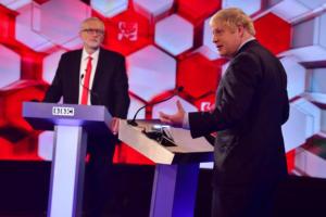 "Brexit: Αλληλοκατηγορίες και πολιτικό ""μίσος"" στην τηλεμαχία Τζόνσον – Κόρμπιν"