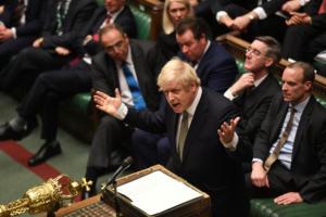Βρετανία: Εγκρίθηκε το νομοσχέδιο για το Brexit που κατέθεσε ο Μπόρις Τζόνσον