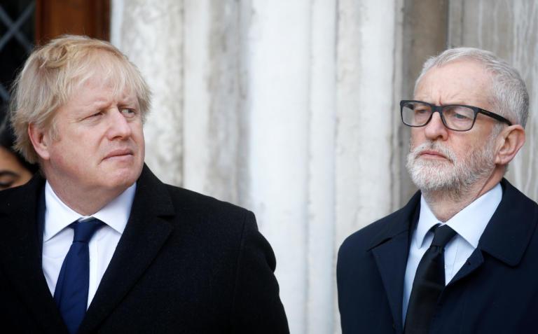 Σκληρές κουβέντες για το Brexit ανάμεσα σε Κόρμπιν και Τζόνσον! Τι δείχνουν οι δημοσκοπήσεις