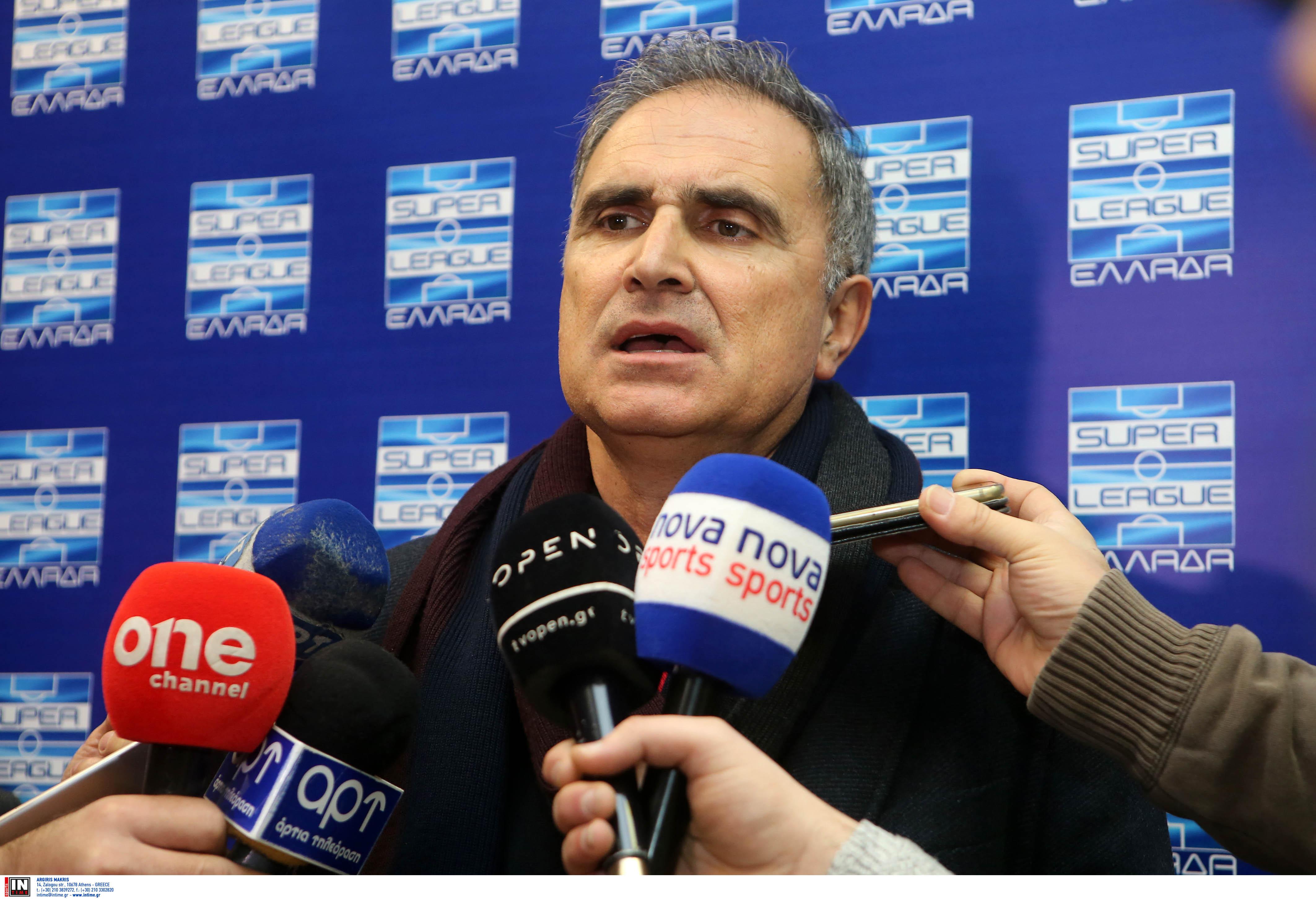 """Superleague – Μποροβήλος: """"Πρωτάθλημα ακόμα και με ξένους διαιτητές!"""""""