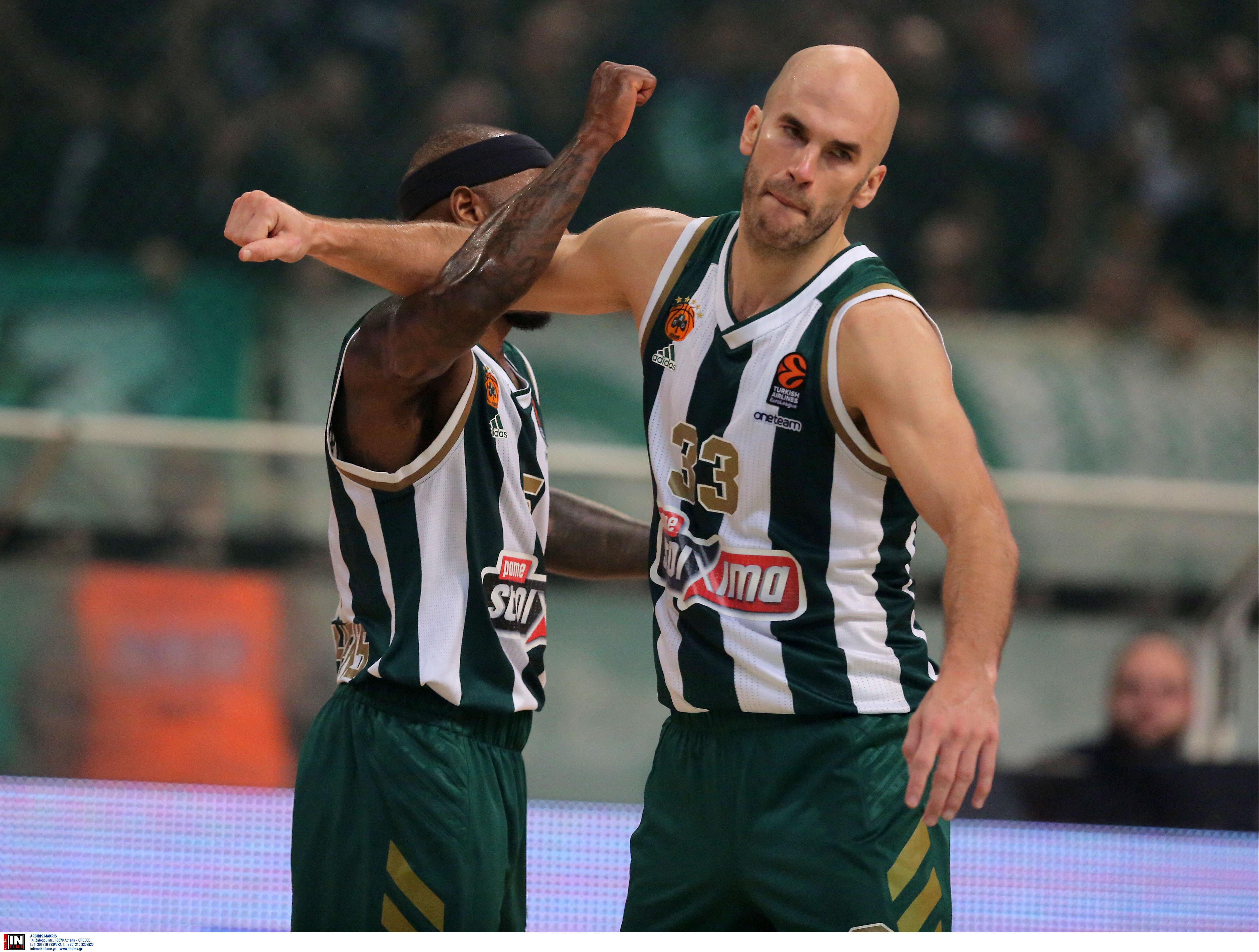"""Βαθμολογία Euroleague: """"Έπιασε"""" την 4άδα ο Παναθηναϊκός! """"Ζωντανός"""" για πλέι οφ ο Ολυμπιακός"""