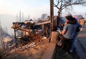 Χιλή: Εμπρησμός η φωτιά στο Βαλπαραΐσο που κατέστρεψε εκατοντάδες σπίτια