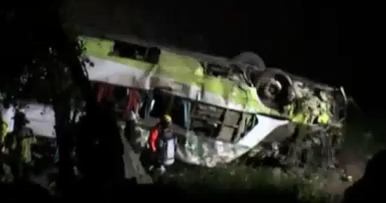 Σοκ στην Χιλή! 21 νεκροί τροχαίο με λεωφορείο! video