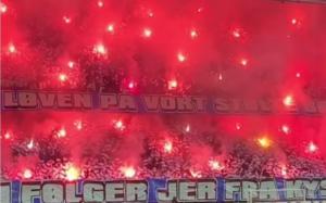 Europa League: Φοβερή ατμόσφαιρα από τους οπαδούς της Κοπεγχάγης των… Ελλήνων! (video)
