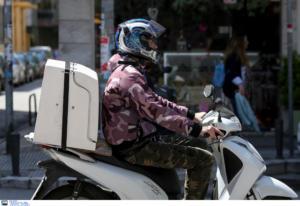 Τρίκαλα: Νέος τραυματισμός ντελιβερά σε τροχαίο! Το μηχανάκι του συγκρούστηκε με αυτοκίνητο
