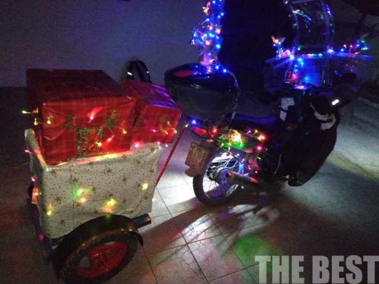 """Πάτρα: Ο Χριστουγεννιάτικος ντελιβεράς… """"ξαναχτύπησε"""""""