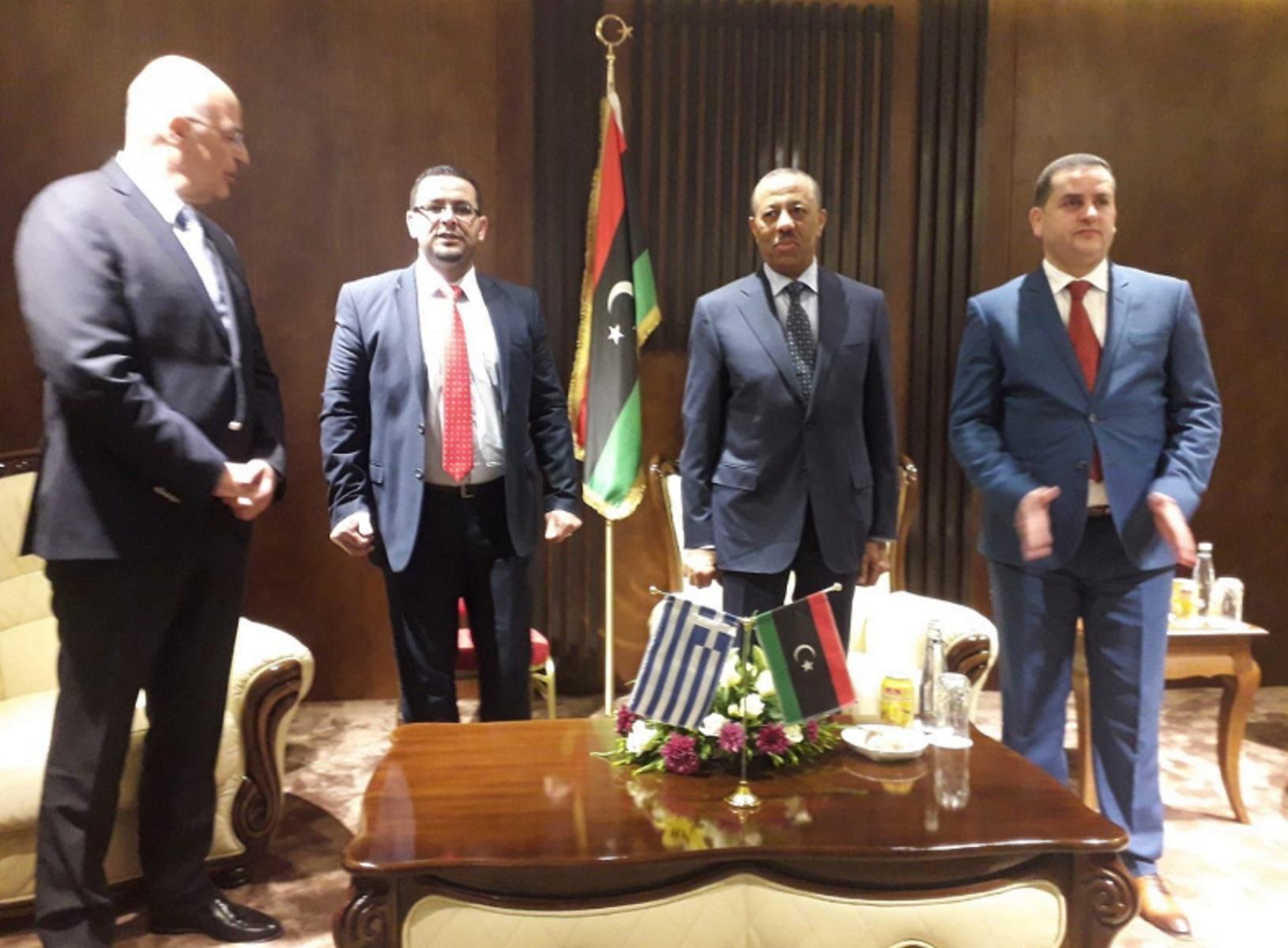 Η Τρίπολη… ενοχλήθηκε από τη συνάντηση Δένδια – Χάφταρ! Μιλούν για κατάφωρη παραβίαση αποφάσεων του ΟΗΕ