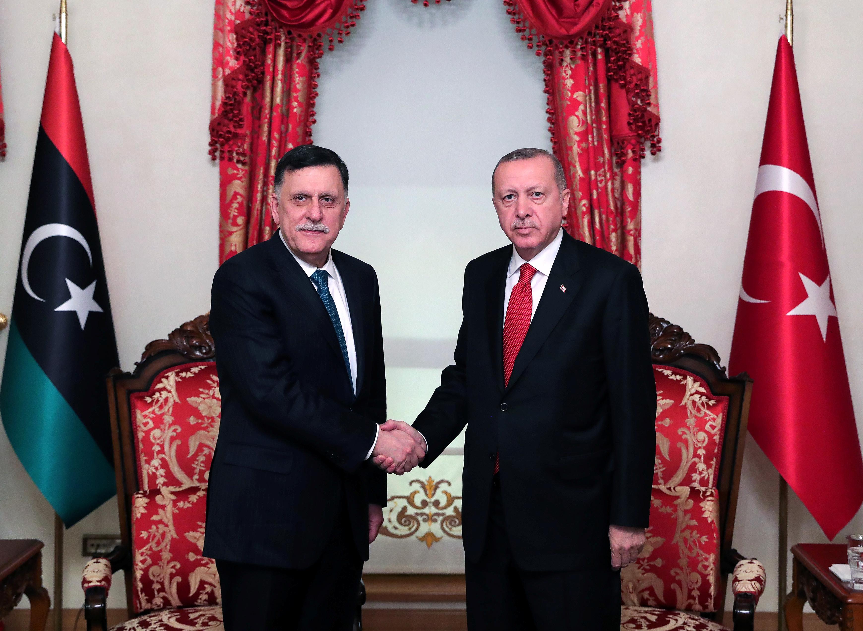 """Ο ΟΗΕ """"επισημοποιεί"""" το μνημόνιο της Τουρκίας με τη Λιβύη"""
