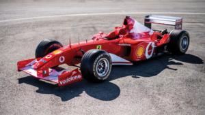 Δείτε πόσο πουλήθηκε η Ferrari F2002 του Michael Schumacher [vid]
