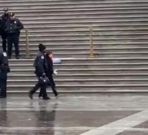 Συνελήφθη η Σάλι Φιλντ σε διαμαρτυρία για την κλιματική αλλαγή