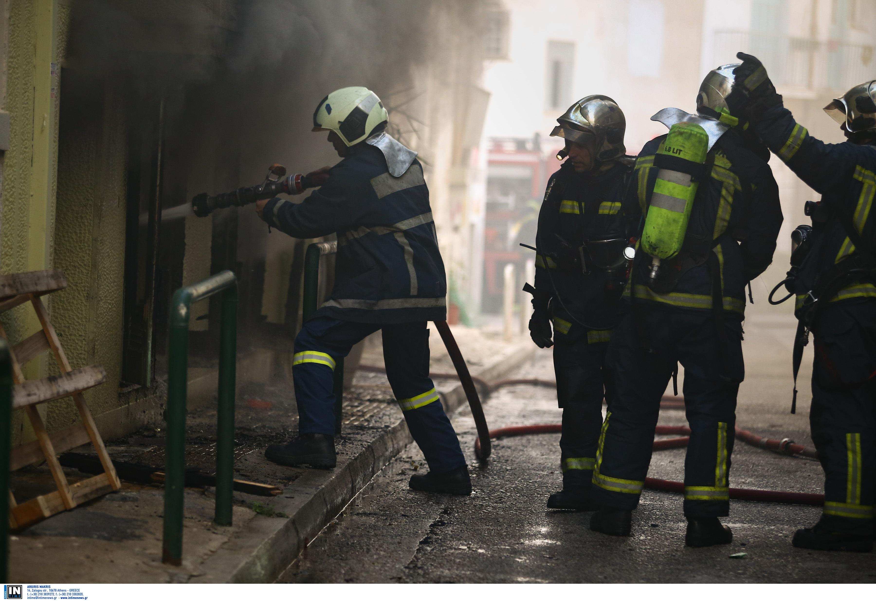 Φωτιά σε σπίτι στο Ρέθυμνο: Ένας άνθρωπος στο νοσοκομείο!