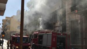 Συναγερμός στην Πυροσβεστική: Φωτιά στο κέντρο του Ηρακλείου! video
