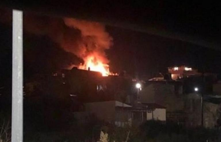 Ηράκλειο: Η στιγμή που διαμέρισμα παραδίδεται στις φλόγες! Η φωτιά το κατέστρεψε ολοσχερώς [pic]