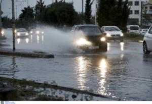 """Καιρός: Παραμένει αγριεμένη η """"Διδώ""""! Βροχές και καταιγίδες παντού"""