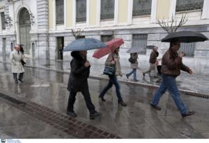 Καιρός αύριο: Ψυχρή εισβολή με βροχές, καταιγίδες και θυελλώδεις ανέμους