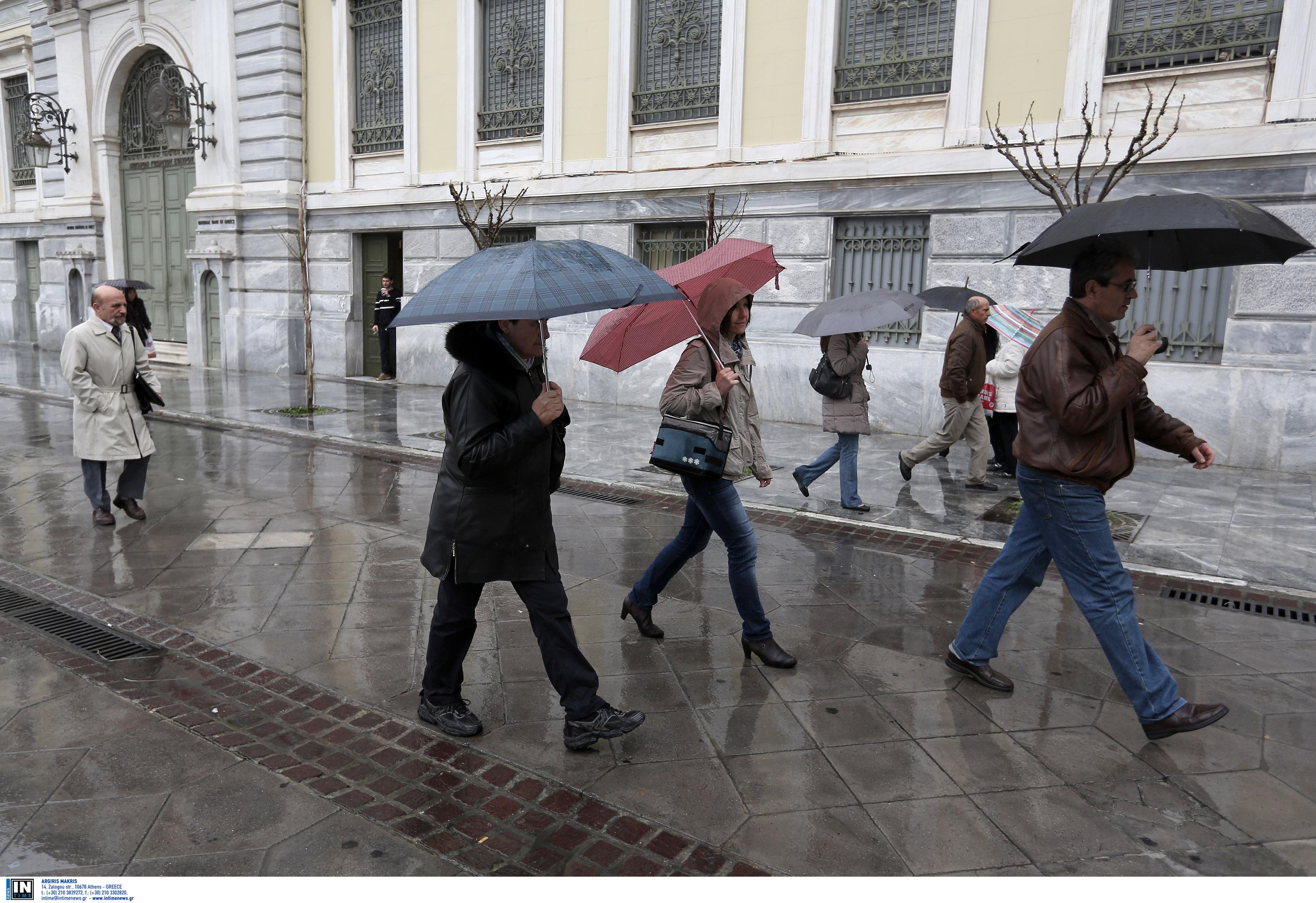 Παραμένει «άγριος» και την Παρασκευή ο καιρός! Κρύο, βροχές και θυελλώδεις άνεμοι