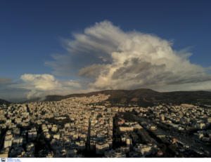 Καιρός: Το πέρασμα της κακοκαιρίας Διδώ από την Αθήνα σε timelapse!