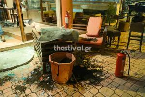 Καλαμαριά: Δύο μαχαιρωμένοι από συμπλοκή οπαδών σε μπαρ! video