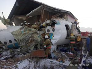 Καζακστάν: Πως έγινε η πολύνεκρη αεροπορική τραγωδία!