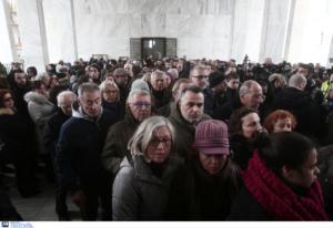 Θάνος Μικρούτσικος: Η πολιτική κηδεία του