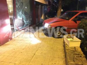 Δάφνη: «Ντου» με αυτοκίνητο σε κοσμηματοπωλείο! Άρπαξαν ρολόγια και κοσμήματα