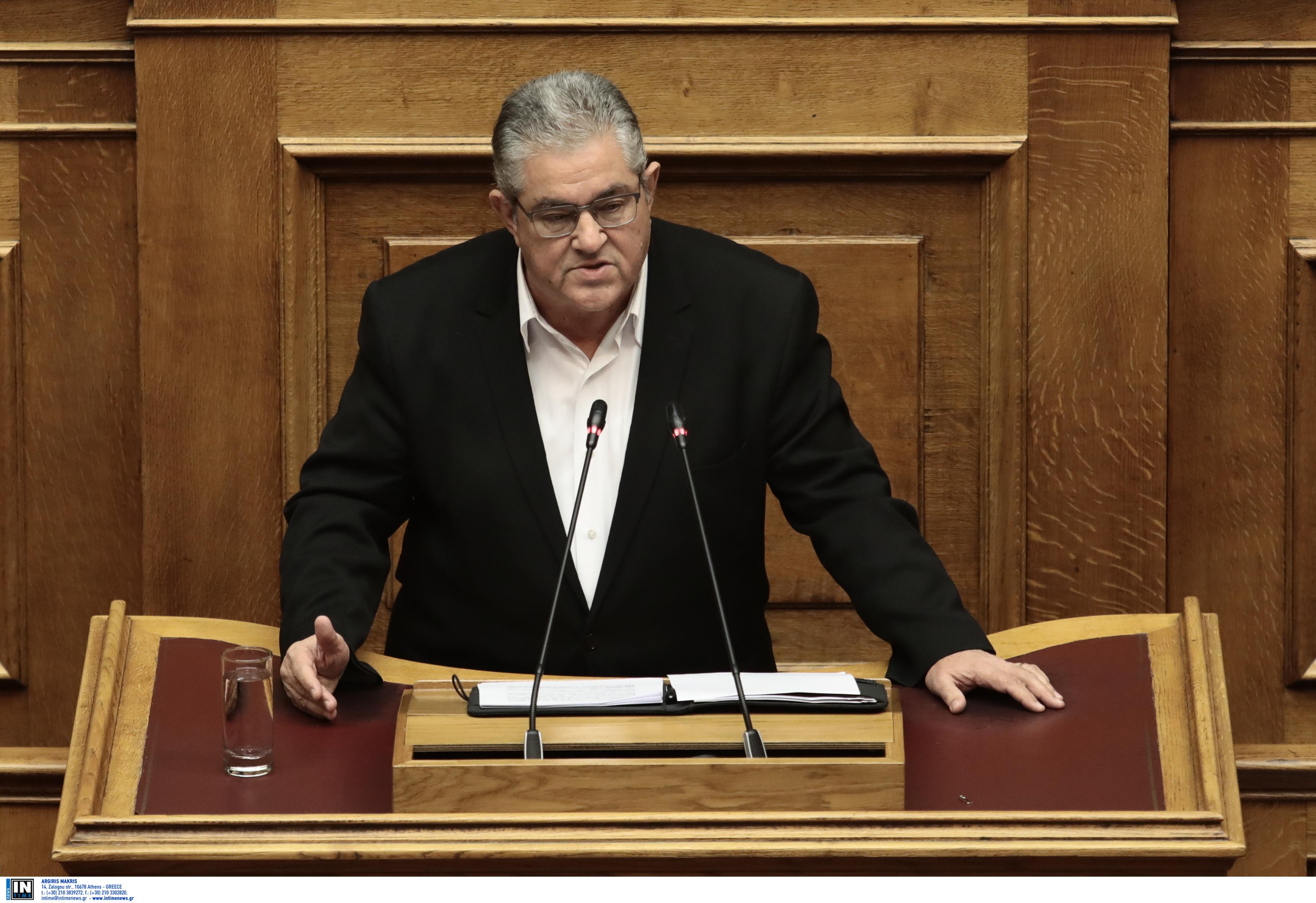 Κουτσούμπας: Tο δόγμα περί προστασίας της Ελλάδας από ΗΠΑ, ΝΑΤΟ, ΕΕ έχει χρεοκοπήσει