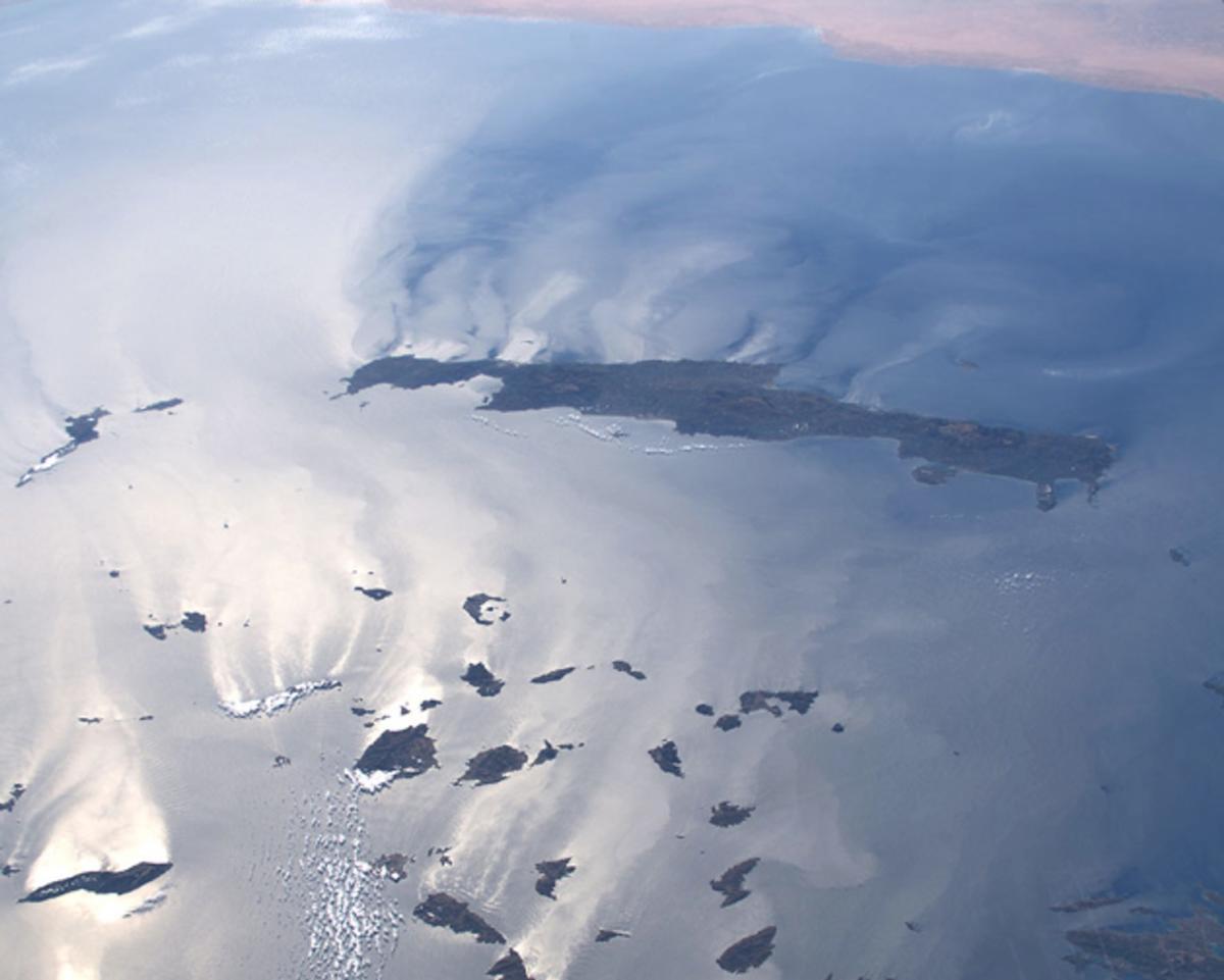 Η Κρήτη και οι Κυκλάδες από το Διάστημα! Η φωτογραφία που συγκλονίζει