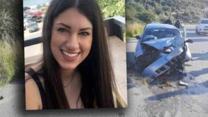 Κρήτη: Τελευταίο αντίο στην Μαρίνα Κοκκίνη που σκοτώθηκε τα Χριστούγεννα σε τροχαίο δυστύχημα!