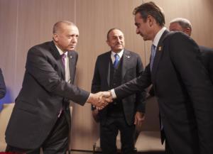 """Το """"ξέκοψε"""" στον Ερντογάν ο Μητσοτάκης για την Λιβύη! """"Δεν μας δεσμεύει""""!"""