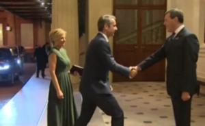 Με την Μαρέβα στο παλάτι του Μπάκιγχαμ ο Μητσοτάκης! video