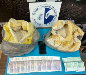 ΕΛΑΣ: Έπιασαν Πακιστανούς που κουβαλούσαν 9 κιλά καθαρής ηρωίνης
