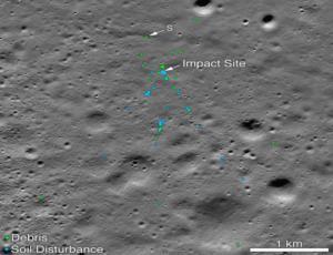 NASA: Εντοπίστηκαν τα συντρίμμια του ινδικού σκάφους Vikram στη Σελήνη!