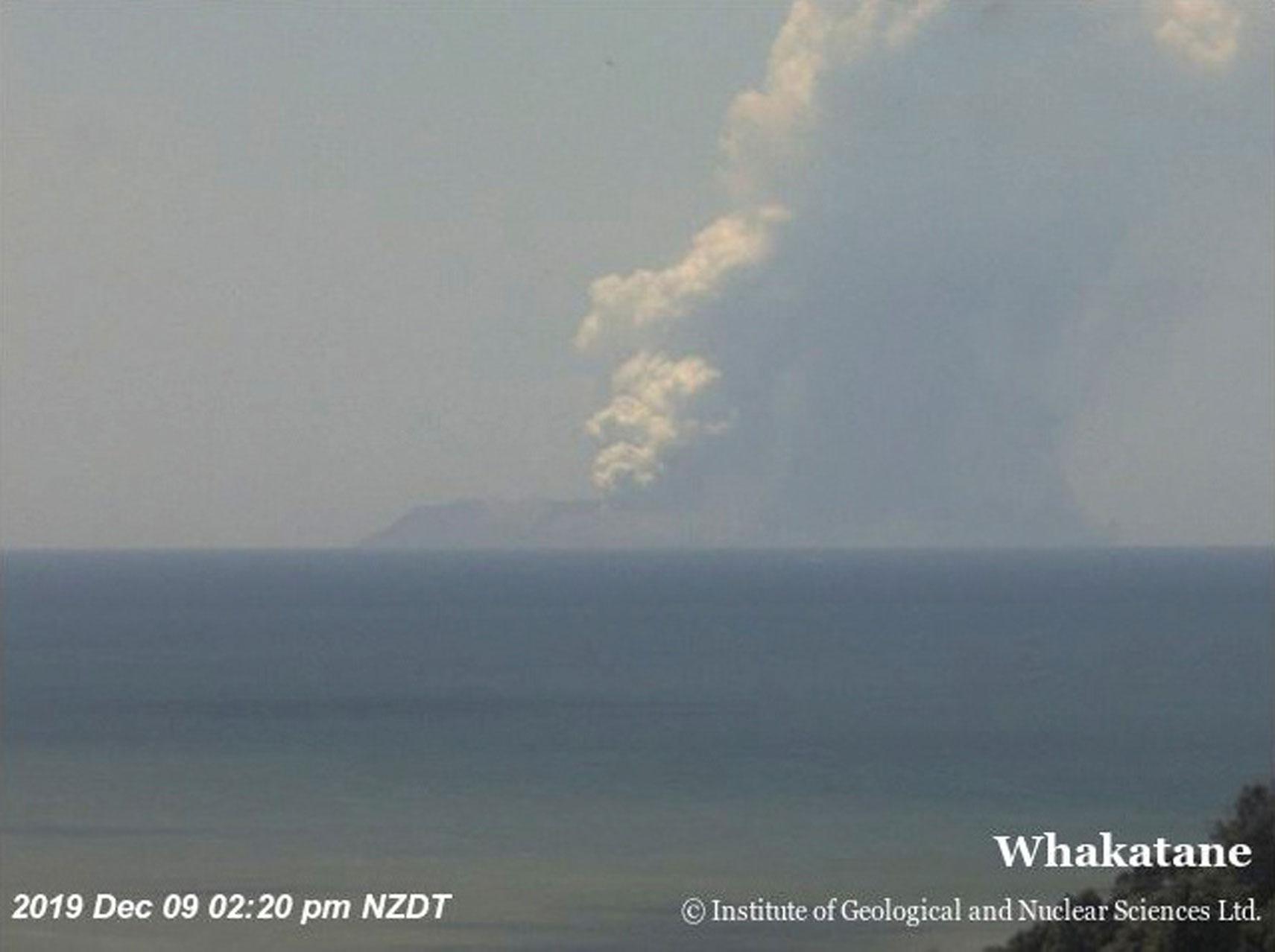Νέα Ζηλανδία: Τρόμος από έκρηξη ηφαιστείου! Πολλοί τραυματίες και αγνοούμενοι