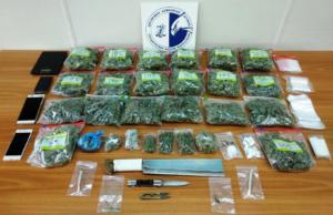 Δυο συλλήψεις για ναρκωτικά στη Νίκαια – Είχαν στην κατοχή τους πάνω από 2 κιλά χασίς