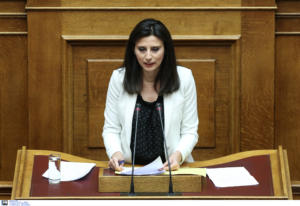 Νίνα Κασιμάτη: Την αποπομπή της ζητά από τον Τσίπρα η ΝΔ