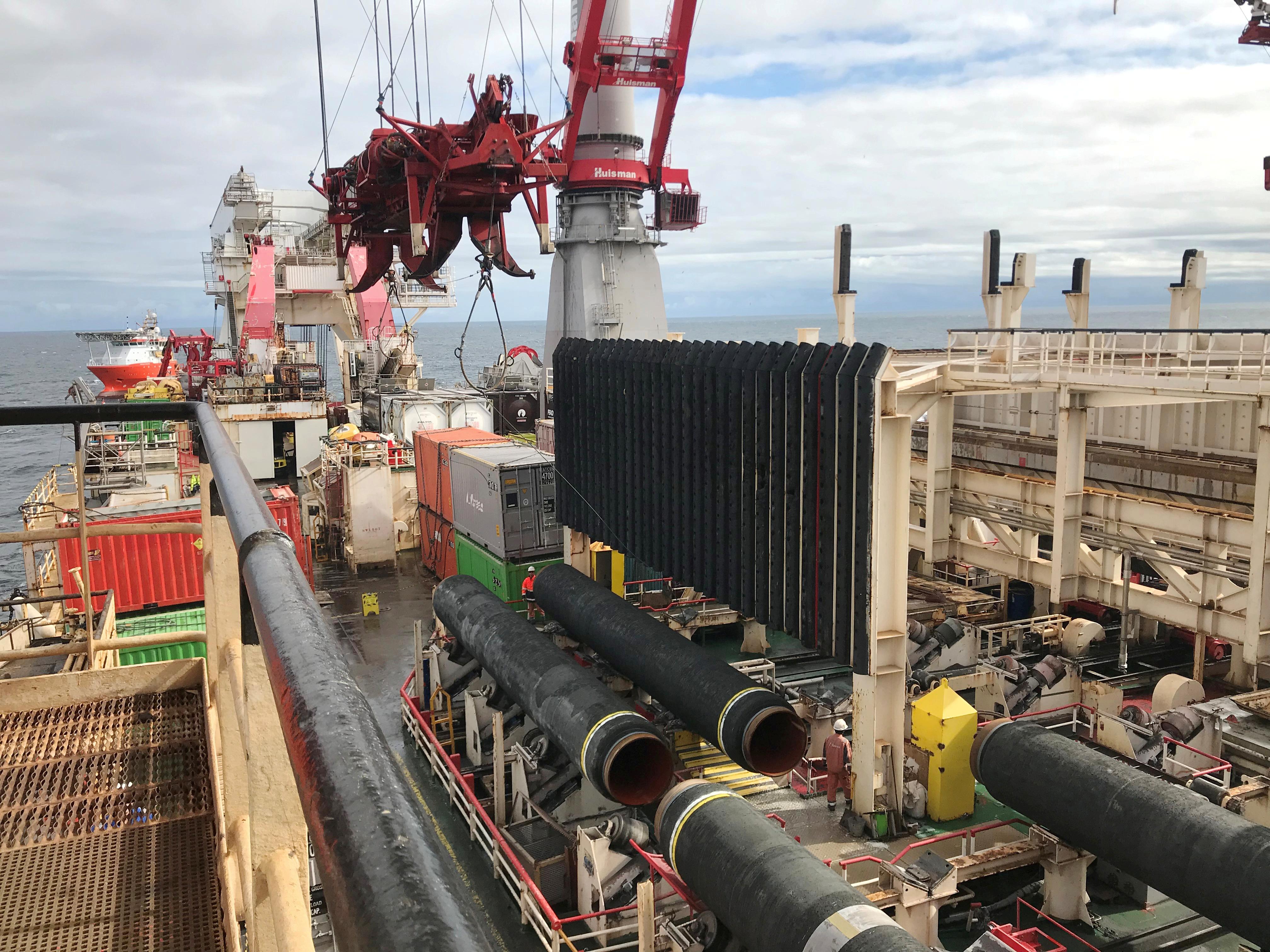 Ρωσία: Δεσμεύσεις για ολοκλήρωση του αγωγού Nord Stream 2 παρά τις πιέσεις των ΗΠΑ
