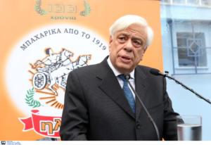 Παυλόπουλος από Καλάβρυτα: Δεν παραιτούμαστε από τις αξιώσεις για τις κατοχικές αποζημιώσεις