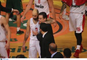 Παναθηναϊκός – Ολυμπιακός: Έφυγαν αγκαλιασμένοι Πιτίνο – Σπανούλης! Έδωσε συγχαρητήρια ο Γιαννακόπουλος