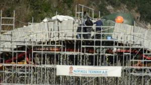 Ήπειρος: Έτσι ξαναστήνουν το ιστορικό γεφύρι της Πλάκας που είχε καταρρεύσει [pics]
