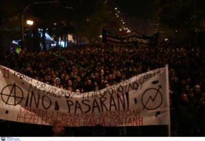 Επέτειος Γρηγορόπουλου: Χωρίς έκτροπα ολοκληρώθηκε η πορεία στην Αθήνα