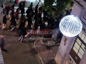 Αλέξης Γρηγορόπουλος: Πορεία αντιεξουσιαστών στην Πάτρα παρουσία ισχυρής δύναμης των ΜΑΤ